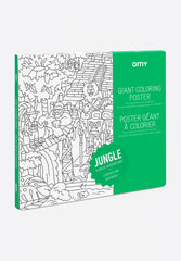 Giant Coloring Poster Jungle