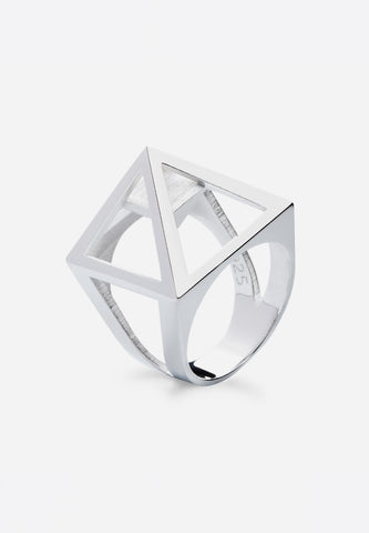 Nefertiti Ring Silver