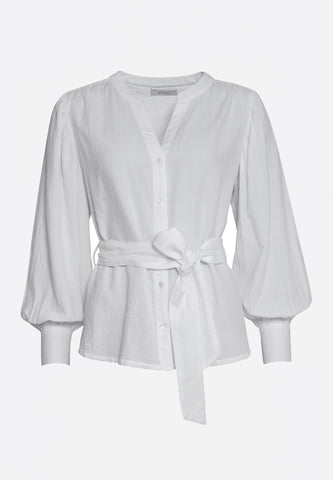 Sabine Blouse White