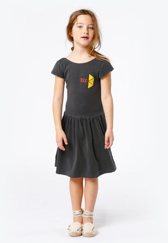 Sparrow Kids Dress Black Tao
