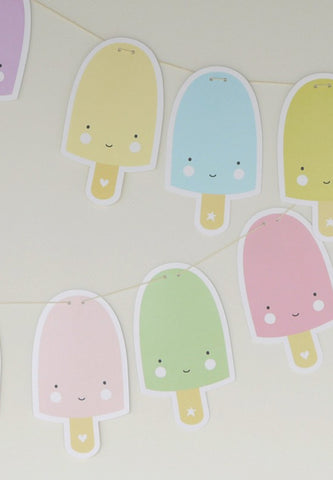 Ice Creams Garland
