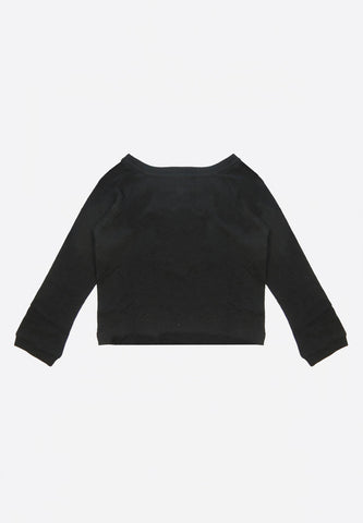Adrien LS Shirt Black