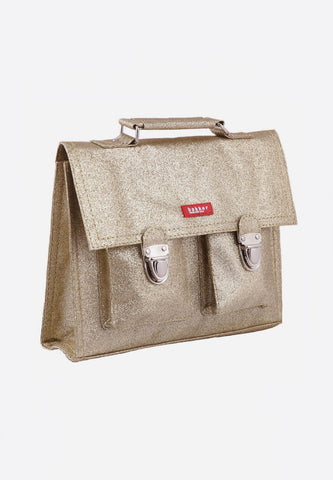 Cartable Mini Glitter Gold