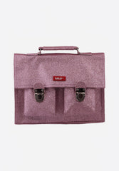 Cartable Mini Glitter Pink