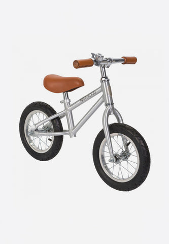 FIRST GO! Kids Balance Bike Chrome