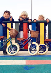 FIRST GO! Kids Balance Bike Navy