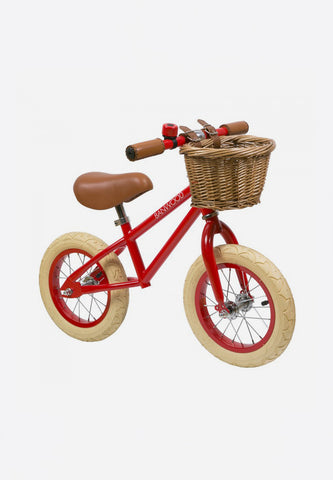 FIRST GO! Kids Balance Bike Red