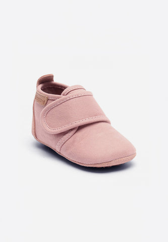 Home Shoe Cotton Velcro Nude