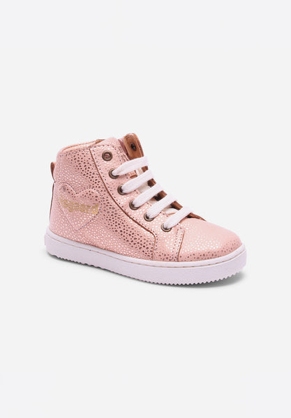 Shoe With Laces Blush