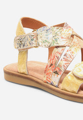Sandal Yellow Patent
