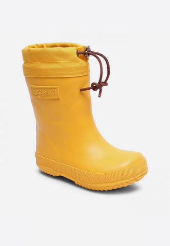 Rubber Boot Winter Thermo Yellow