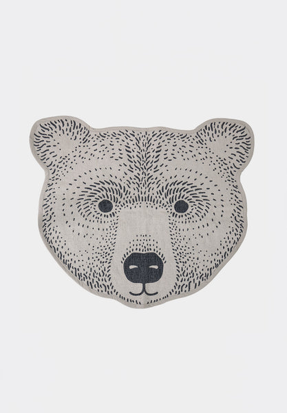 Rug Brown Bear