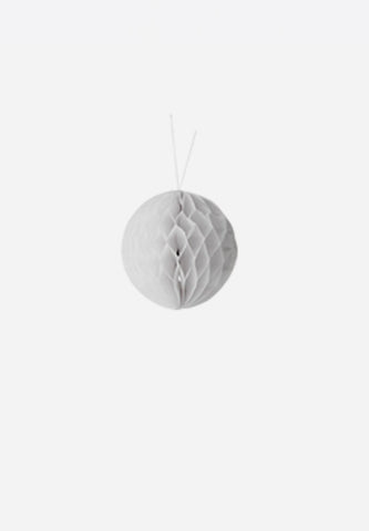 White Paper Ornament