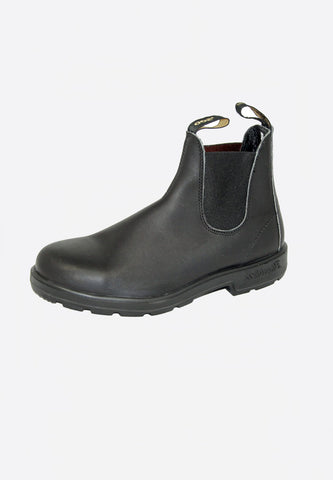 Blundstone 510 Elastic Sided V-Cut Voltan Black