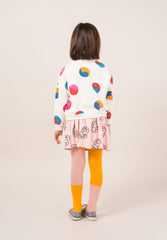 Bicolor Pink And Yellow Tights