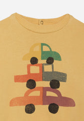Cars Round Neck Sweatshirt
