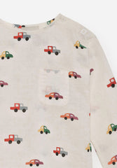 Cars Round Neck Shirt