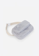Faux Fur Belt Pouch