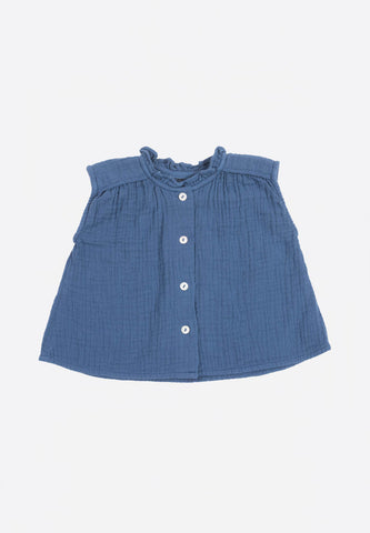 Baby Blouse Blue