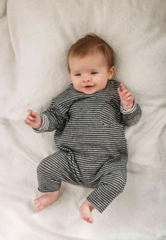 Enzo Stripes Jumpsuit