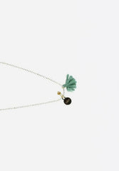 Necklace Mini Pom Pom Mood Indigo