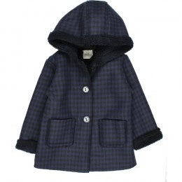 James Double Face Hood Jacket