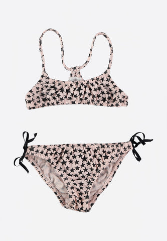 Joe & Lel Stars Bikini Pale Rose