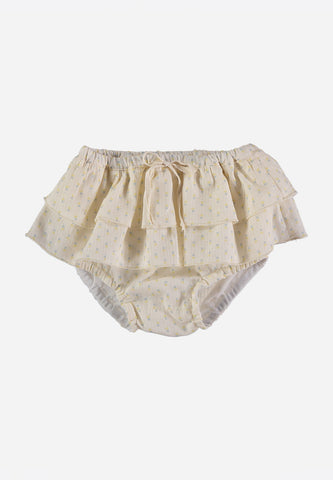 Cleo Voile Flower Baby Culotte Mimosa
