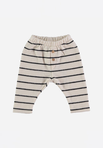 Capri Baby Navy Stripes Legging