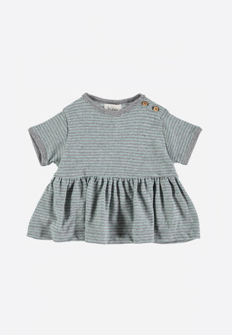Zoe Baby Stripes Jersey Dress Mint