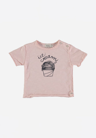 Cesar Baby Ice Cream T-Shirt Light Pink