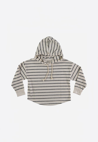 Willy Navy Stripes Hood Sweater