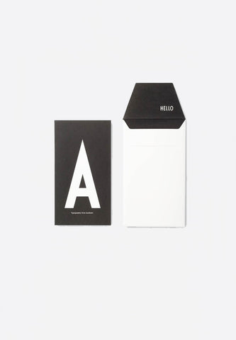 Personal Greeting Card A-Z