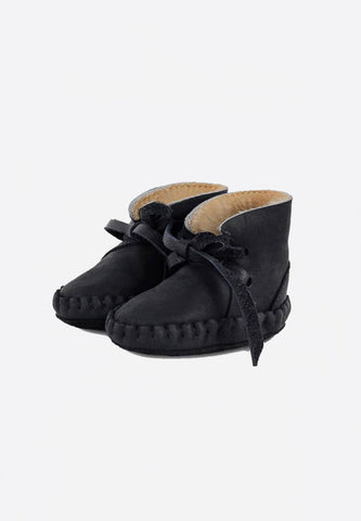 Lined Pina Booties Black