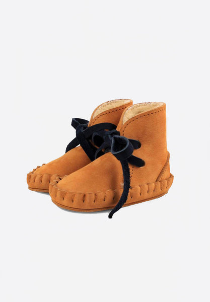 Lined Pina Booties Caramel