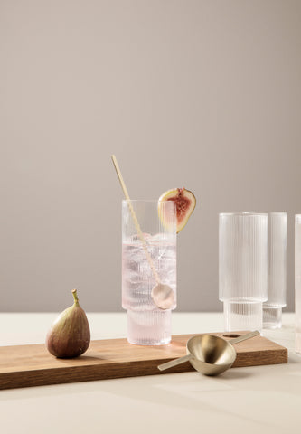 Ripple Long Drink Glass