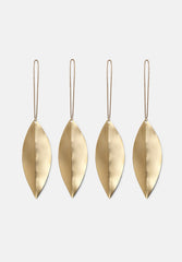 Leaf Brass Ornaments