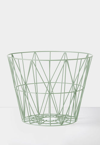 Wire Basket Mint