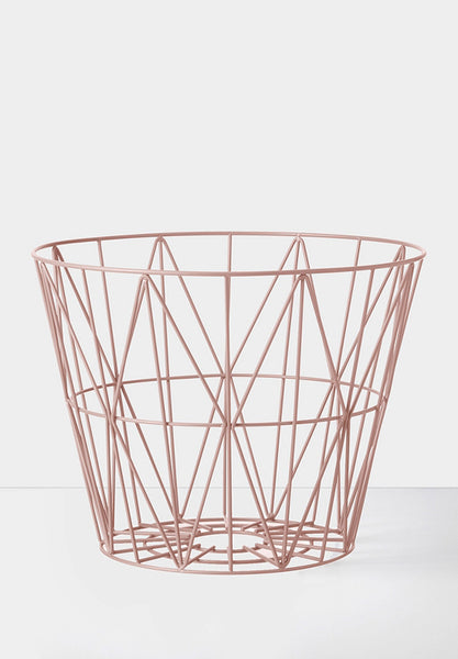 Wire Basket Rose