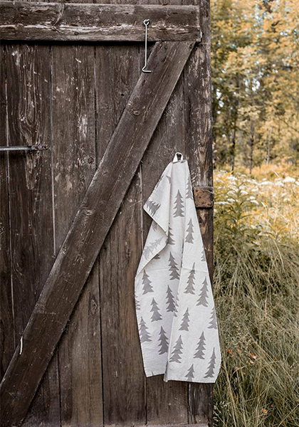 Gran Tea Towel Nature Grey