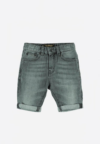 Edmond Grey Denim Shorts