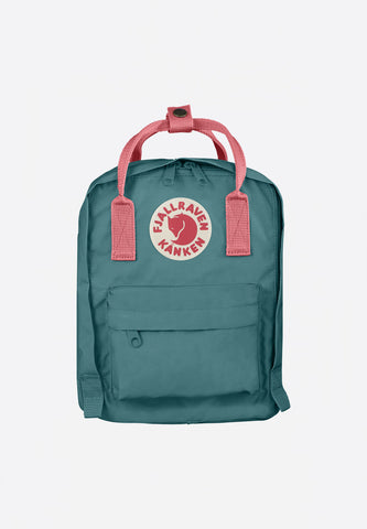 Kanken Kids Frost Green-Peach Pink