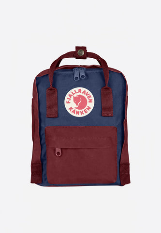 Kanken Mini Royal Blue-Ox Red