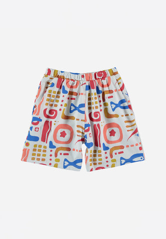 The Ocean Shorts White