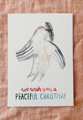 Postkarte Peaceful Christmas