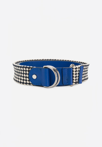 Snore Belt Blue Leather