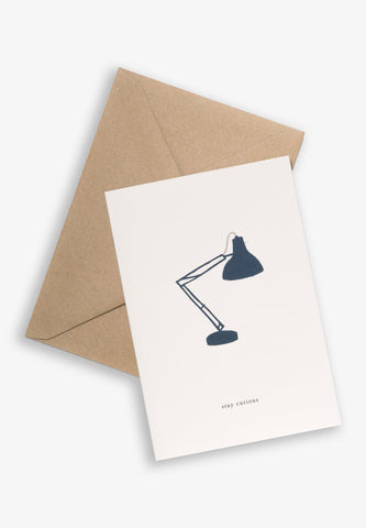 Greeting Card Lamp