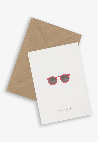 Greeting Card Sunglasses