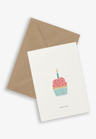Greeting Card Birthday Cake