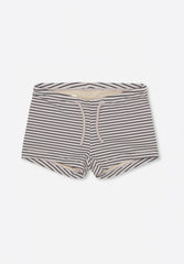 Soleil Uni Swim Shorts Striped Navy